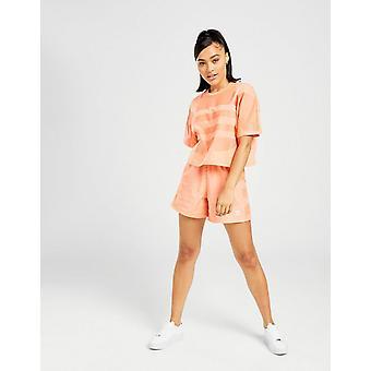 Νέα adidas Πρωτότυπα Γυναίκες's Μεγάλο Λογότυπο Σορτς Κοράλλι