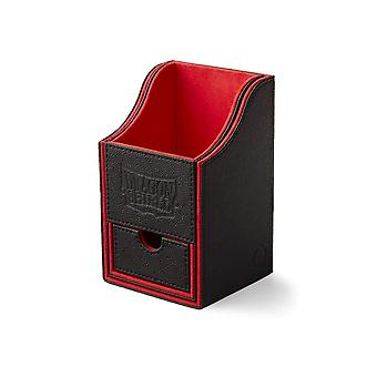 Dragon Shield Nest Box+ Black/Red Staple
