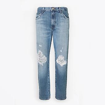 J Brand - Tate Boyfriend Fit Jeans - Senska Destruct