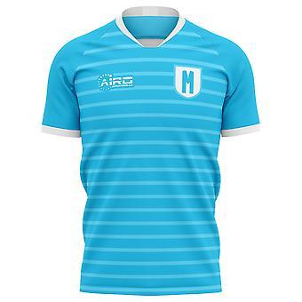 2020-2021 مالمو FF مفهوم المنزل قميص كرة القدم