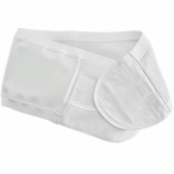 Coloplast Ostomy Support Belt Brava Medium, 34 to 39 Inch Waist, White, 1 Count