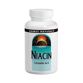 Source Naturals Niacin, 100 mg, 250 Tabs