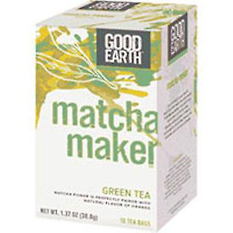Good Earth Teas Matcha Maker Green Tea, 18 Tea bags