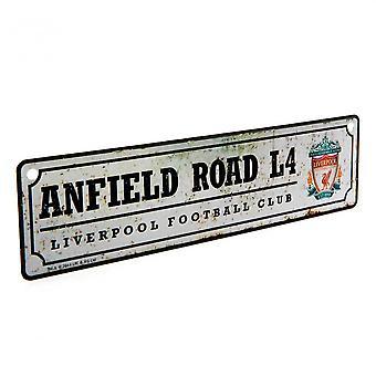 Liverpool FC Retro Venster teken