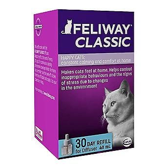 1 x 48ml Feliway Classic Cats Kittens Calm Relax Control 30 day Defuser Refill