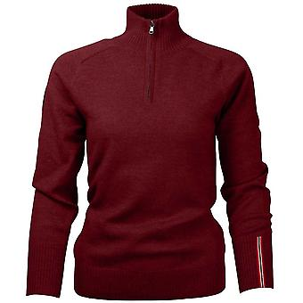 Amundsen Women's Peak Half Zip - Ruby