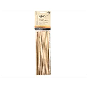 T & G Skewers Bamboo 250mm x 100 02070