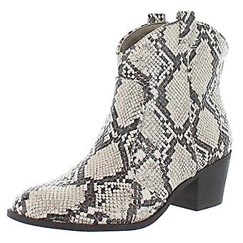 Style & Co. Womens Mykenna Faux Leather Cowgirl Cowboy, Western Boots