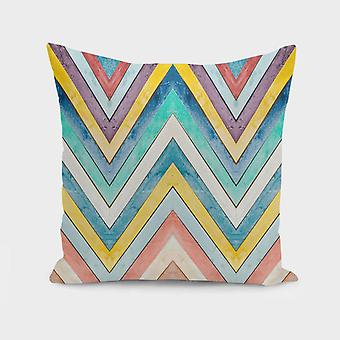 Colorful Mountains Pillow Cover
