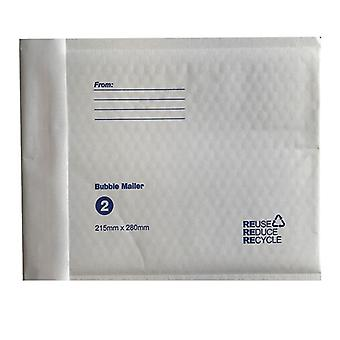 50X Tempest Bubble Mailers White Padded Eco Mail Bags Envelopes