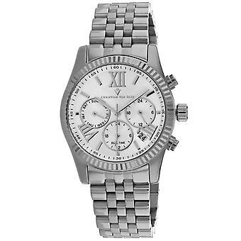 Christian Van Sant Women's Blisse Silver Dial Watch - CV0620