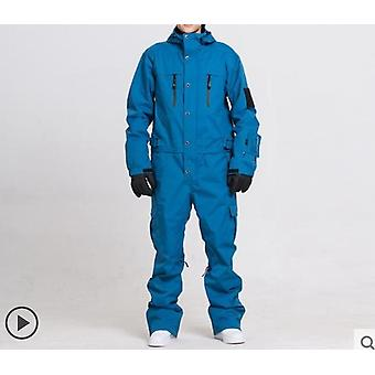 Waterproof, One-piece Skiing Jumpsuit, Winter Clothing
