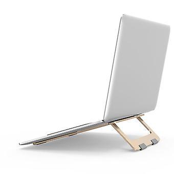 Laptop állvány állítható alap Champagne arany