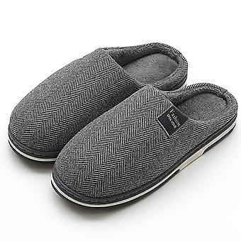 Men's Slippers Memory Foam Slippers For Home House Shoe