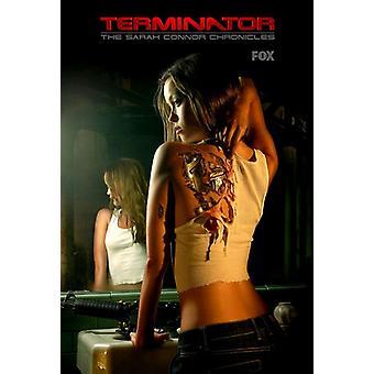 Terminator Sarah Connor Chronicles - tyyli AO elokuvajuliste (11 x 17)