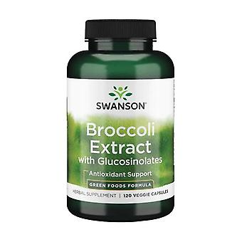 Green foods formulas broccoli extract with glucosinolates 600 mg 120 vegetable capsules of 600mg