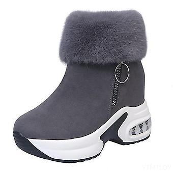נשים מגפון מגפון חם נעלי חורף - עקבים גבוהים נשים מגפי שלג