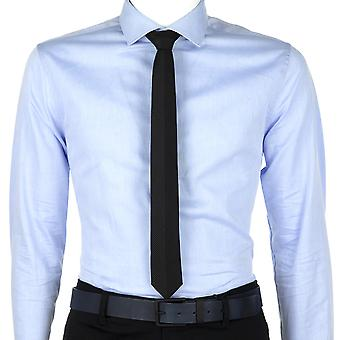 Calvin Klein Men Tie Pindot Panel  Black