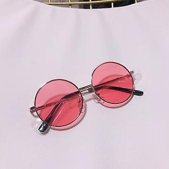 Egyszerű Kerek Girls Anti-UV napszemüveg