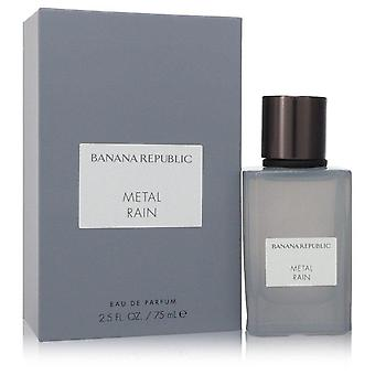 Banana republic metal rain eau de parfum spray (unisex) por república bananera 554249 75 ml