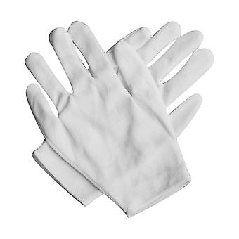 20pc Medium Thick Cotton Sweat-proof Breathable Elastic White Gloves