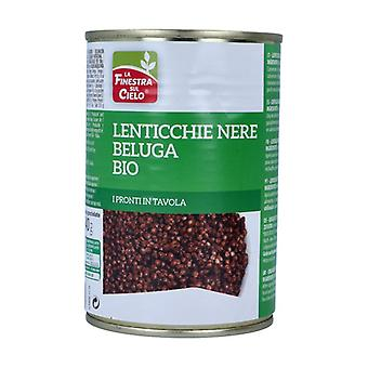 Ready-made black beluga lentils 400 g