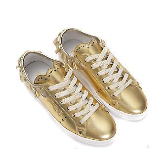 Trussardi Jeans Oro Gold Sneakers