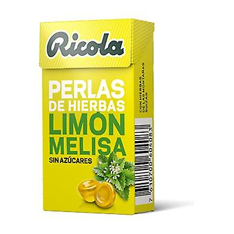 Ricola Lemon and Melissa Pearls without sugar 25 g