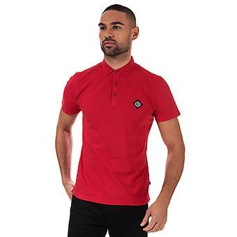 Men's Henri Lloyd Salted Piquet Polo Shirt in Red