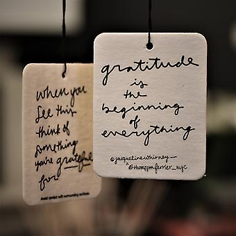 Gratitude Is The Beginning Of Everything - Mobile Fragrance
