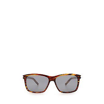 Saint Laurent SL 339 havana męskie okulary przeciwsłoneczne