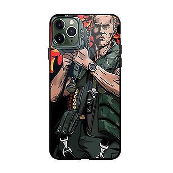 """Arnold Schwarzenegger pehmeä iskunkestävä suojakotelo Apple iPhone 11 Pro Maxille (6.5 """") Monivärinen # 26"""