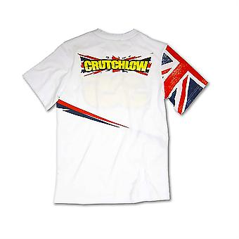 Mens T-Shirt Crutchlow 35 White