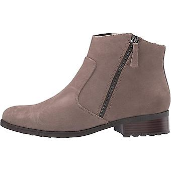 Easy Spirit Womens E-RACHELE Leather Closed Toe Ankle Fashion Boots