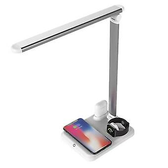 4 In 1 Led Desk Lamp Light Qi Wireless Charger