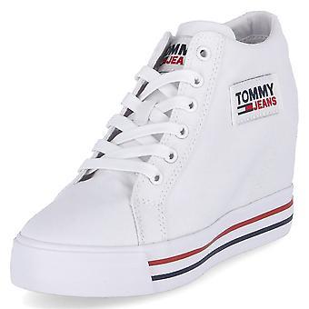 Tommy Hilfiger Tommy Jeans Wedge EN0EN01346 universeel het hele jaar door damesschoenen