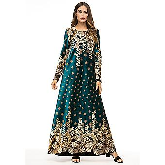 Embroidered Velvet Embroidery Woman Indian Sari Clothing Dress