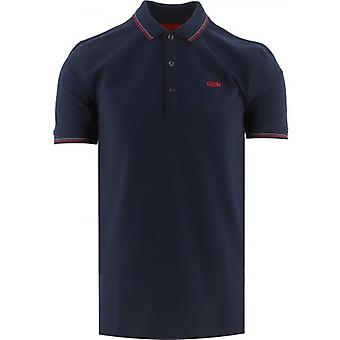 HUGO Navy Dinoso 212 Polo Shirt