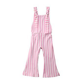 Toddler Baby Stripe Bell-pantaloni de jos / pantaloni / romper