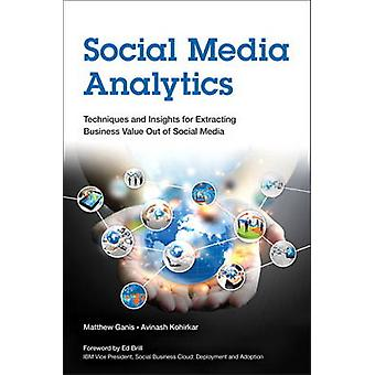 Social Media Analytics - Techniques and Insights for Extracting Busine