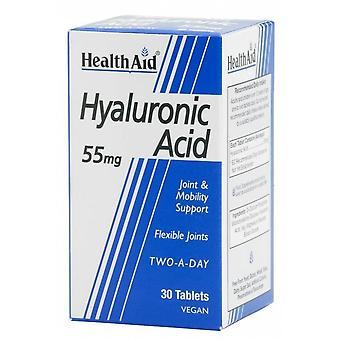 Terveysapu Ácido Hialurónico 55 mg 30 Comprimidos