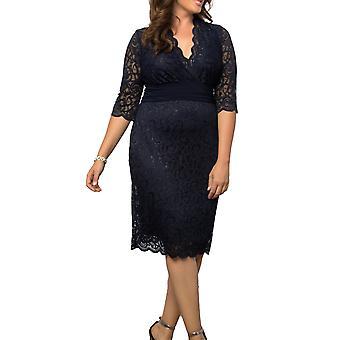 Kiyonna | Lumiere Lace Dress
