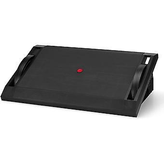 HanFei 830016 Fuablage PODI I Fusttze Schreibtisch mit Wippfunktion, hhenverstellbar, ergonomisch,