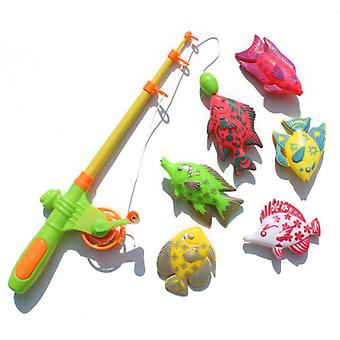 Magnetic Fishing Toy With 6 Fish And A Fishing Rod
