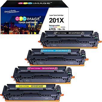 Wokex Image 201X Toner Kompatibel fr HP 201X 201A CF400X CF400A Toner fr HP Color Laserjet Pro MFP