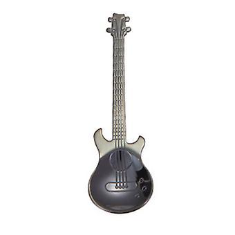 7Pcs/Set Stainless Steel Guitar Teaspoon Tea Coffee Ice Cream Dessert Spoons