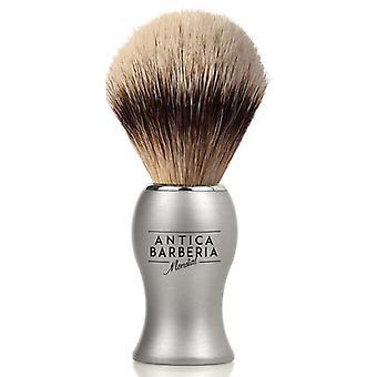 Antica Barberia migliori Badger rasatura spazzola titanio 20mm