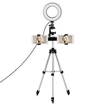 Dual-Phone Live Streaming Lighting Kit