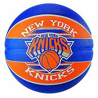 Spalding NBA-joukkue New York Knicks kestävä kumipeite ulkokoripallo