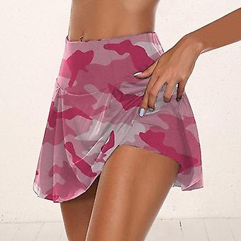 Women Tennis Sport Skirts With Shorts